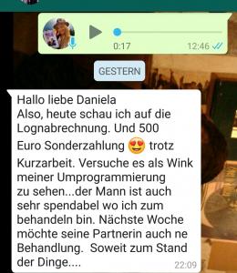 Referenz Coaching: Geldblockade lösen Daniela Lechler Marketingberatung & Coaching